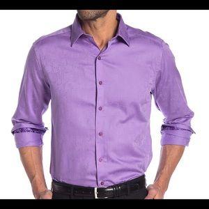 Robert Graham Walden Long Sleeves men's shirt. NWT